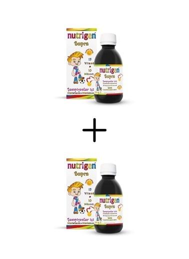 Nutrigen Nutrigen Supra Şurup 2'li Fırsat Paket 200 Ml Renksiz